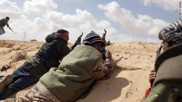 Analysts fear Libya could be drawn into a long civil war in the power vacuum caused by the regime's demise.