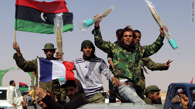 Libyan civilians turned amateur soldiers say they're united by one mission: toppling the regime of Col. Moammar Gadhafi.