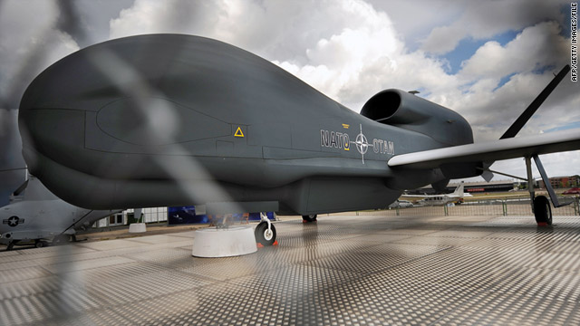 The Global Hawk high-flying unmanned aircraft is just one of  the military resources being employed by the U.S. in Libya.