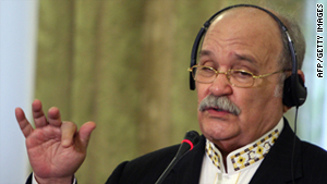 Miguel d'Escoto Brockmann is a former president of the U.N. General Assembly and a former Nicaraguan foreign minister.