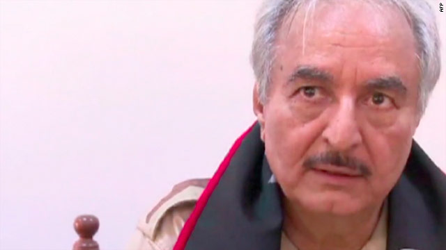Khalifa Haftar: The man who left Virginia to lead Libya's rebels