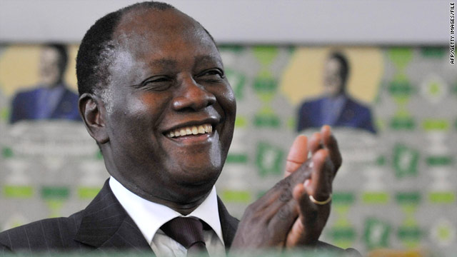 "Many hope that ""Ado,"" as Alassane Ouattara is referred to by supporters, can reunify a country torn apart by civil war in 2002."