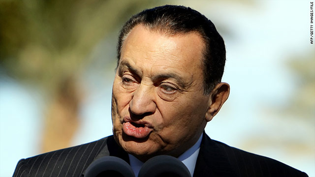 Mubarak (pictured in 2008) had back surgery in Germany in 2004, and returned there in 2010 to have his gall bladder removed.