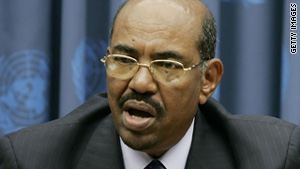 Sudanese President Omar al-Bashir said the disputed region of Abyei belongs to the north.