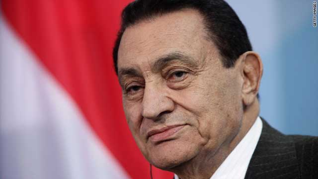 Hosni Mubarak is detained in connection with the deaths of demonstrators during unrest that led to his ouster.