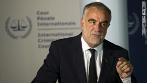 Luis Moreno-Ocampo is the chief prosecutor of the International Criminal Court.