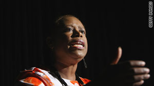 "Former Rep. Cynthia McKinney: ""It's important that people all over the world see the truth."""