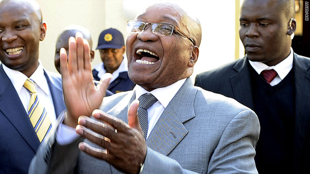 South African President Jacob Zuma was also part of an African Union delegation that visited Libya last month.