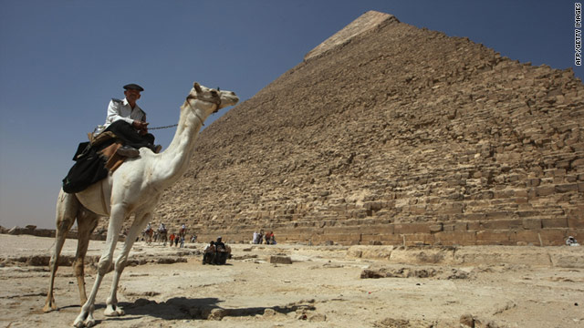 Markings deep inside the Great Pyramid of Giza could shed light on the monument's secret chambers and tunnels.