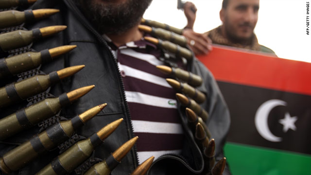 Anti-Gadhafi rebels have been battling for control of towns across Libya for months
