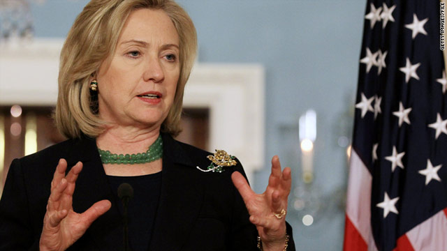 Secretary of State Hillary Clinton will visit three countries during her weeklong trip to Africa.