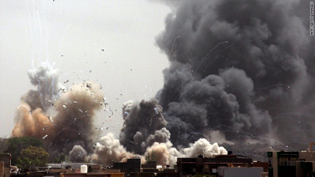 NATO has stepped up its bombing campaign against key targets in Libya's capital in recent days.