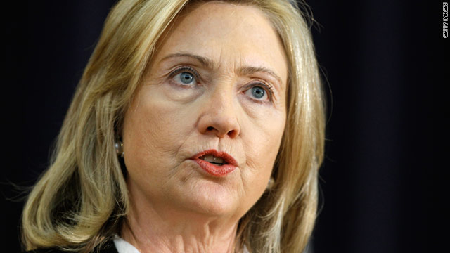 Secretary of State Hillary Clinton has said the NATO mission in Libya should not be abandoned, speaking during a trip to Jamaica.