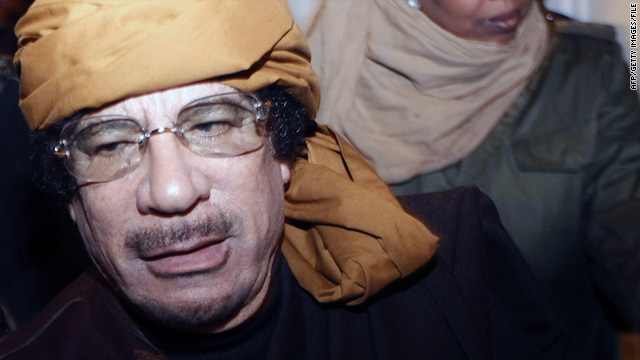 Libyan strongman Moammar Gadhafi has made clear he would not recognize the International Criminal Court's authority.