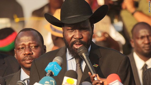 Stetson-wearing statesman Salva Kiir Mayardit will be president of South Sudan, the world's newest country.
