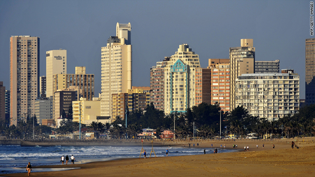 Durban will play host to the 17th session of the United Nations Convention on Climate Change (UNFCC) this December