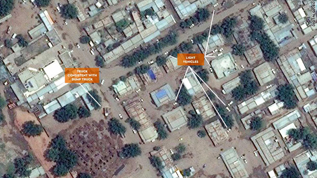 The Satellite Sentinel Project says it has visual evidence of mass graves in South Kordofan.