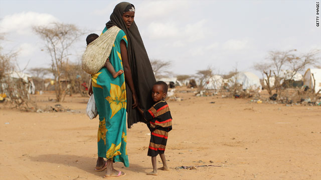 Nearly half a million children in the Horn of Africa are at risk of dying from malnutrition and disease.