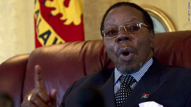 President Bingu wa Mutharika has been accused of dragging Malawi back into the dictatorship era