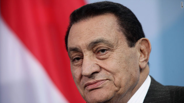 Pictured in 2010, Mubarak faces trial in August on charges that he ordered police to shoot protesters and wasted public money.