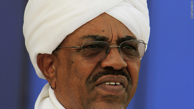 Sudanese President Omar al-Bashir, pictured here 1 August, called for a unilateral cease-fire in the state this week.