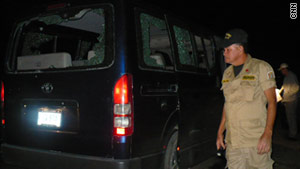 Gunmen opened fire on a private bus in Honduras on Thursday night, killing eight people and injuring three others.