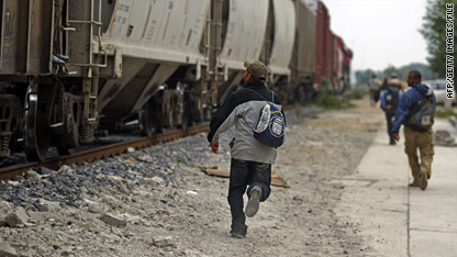 Migrants trying to reach the United States by traveling through Mexico face a dangerous trip.