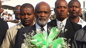 A report on the Haiti vote indicates President Rene Preval's preferred candidate should be eliminated from a runoff.