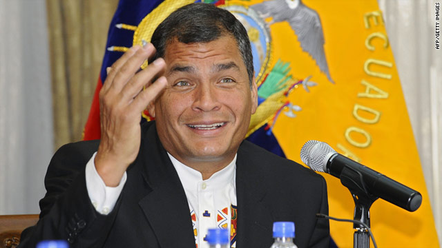 Ecuador investiga presuntos vínculos entre el presidente Correa y las FARC