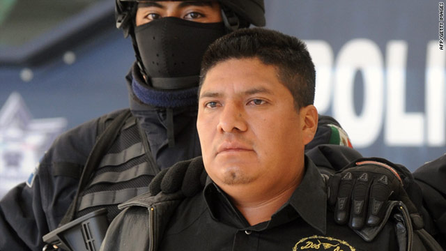 "Flavio Mendez Santiago, alias ""El Amarillo,"" founding member of the Zetas drug cartel, was arrested in southern Mexico."