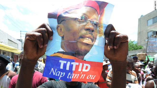 Jean-Bertrand Aristide has been living in South Africa since he fled Haiti during a violent uprising in 2004.