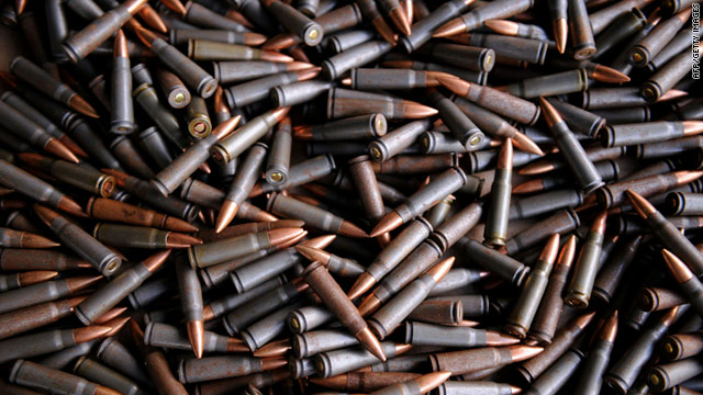 Cartridges siezed from alleged FARC rebels by Colombian  forces are shown in this file picture dated November 5, 2010.
