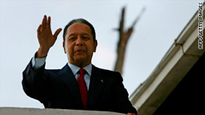 Jean-Claude Duvalier is accused of pillaging Haiti's national treasury during his 15-year rule.
