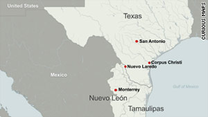 Nuevo Laredo is one of the battlegrounds that is being contested by rival drug cartels.