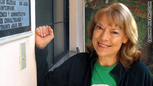 Anne Hallum is encouraging Guatemalans to use trees to safeguard their lives and crops against mudslides.