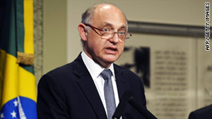 Argentinian Foreign Minister Hector Timerman says goods sent to Argentina on a U.S. plane were not properly declared.