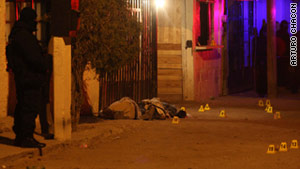 Fifty-three people were killed in a 72-hour span in Ciudad Juarez, Mexico, including four police officers.