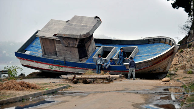 A magnitude-6.0 earthquake struck Chile, with no immediate reports of damage or injury. An 8.8-magnitude quake in 2010 killed more than 500 people and grounded this fishing boat. Repairs from that quake have cost nearly $30 billion and left many homeless.