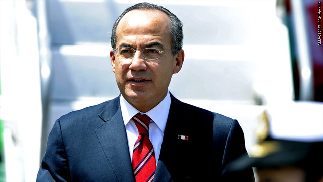 Mexican President Felipe Calderon began cracking down on drug cartels in 2006. The Mexican government says there have been more than 34,600 drug-related deaths since then.