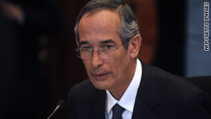 Guatemalan President Alvaro Colom has described the syphilis experiments as crimes against humanity.