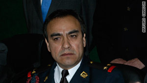 Former Baja California state police chief Julian Leyzaola is the new chief of Ciudad Juarez.