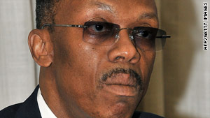 """I renew my commitment to serve"" the people of Haiti, former Haitian President Jean-Bertrand Aristide said Friday."