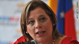 Venezuelan Health Minister Eugenia Sader said while an H1N1 outbreak was confirmed, there was no epidemic.