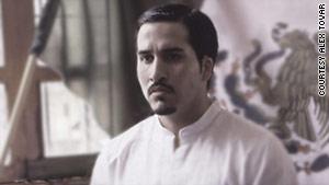 Latino hip-hop star Jesus Martinez-Gonzalez assumes the classic persona of Mexican folk hero Malverde.