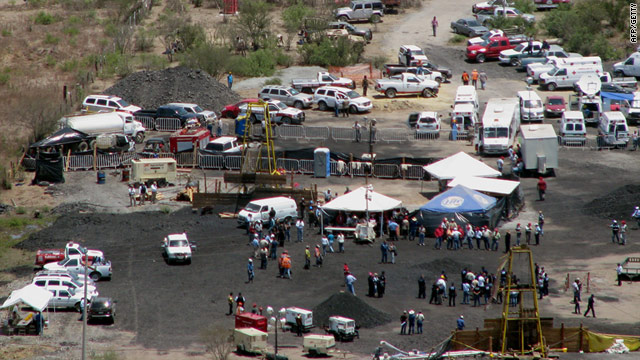The San Juan de Sabinas coal mine in northern Mexico on Thursday - rescue workers recovered a seventh body on Friday.