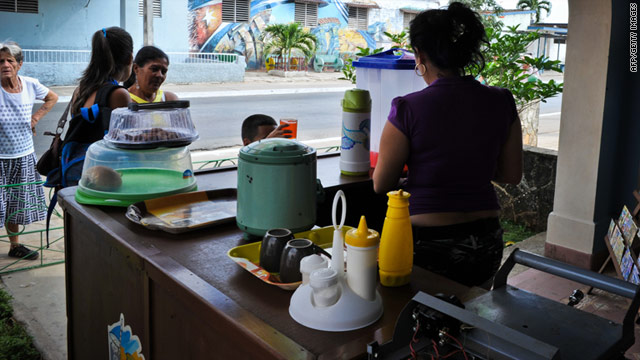 More than 200,000 Cubans have bought licenses to open small businesses since October.