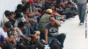 Mexican authorities reached out to consulates and embassies to arrange the immigrants return to their home countries.