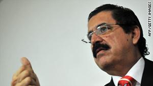 Former Honduras President Manuel Zelaya.