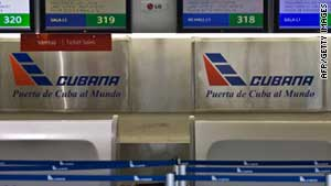 The 14 Cubans were all employed by Cubana de Aviacion.