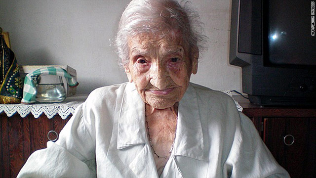 Maria Gomes Vatentim, born in 1896, died Tuesday night at the age of 114.